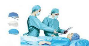 پارچه ی یکبار مصرف بیمارستانی